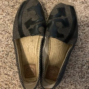 Tory Burch black espadrilles